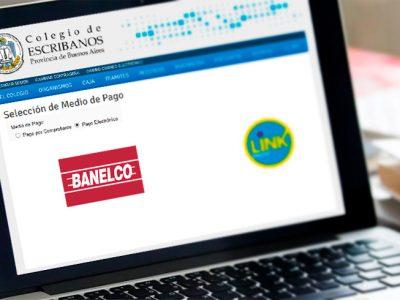 RED BANELCO: NUEVA MODALIDAD DE PAGO PARA CARGA DE SALDO EN CUENTA NOTARIAL